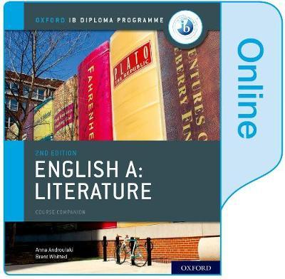 oxford ib english a literature online course book
