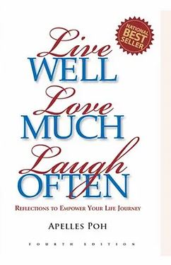 live well, love much laugh often